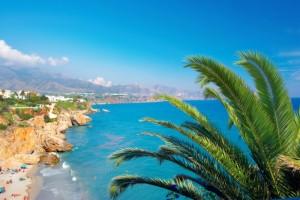 A photo of the coast of Costa Del Sol from a luxury villa_shutterstock_6707644