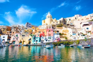 Italia_Procida, beautiful island in the mediterranean sea, naples _shutterstock_92696470