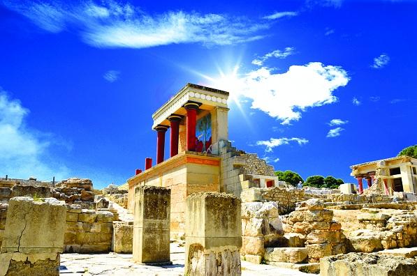 Palatul Knossos, Creta, Grecia