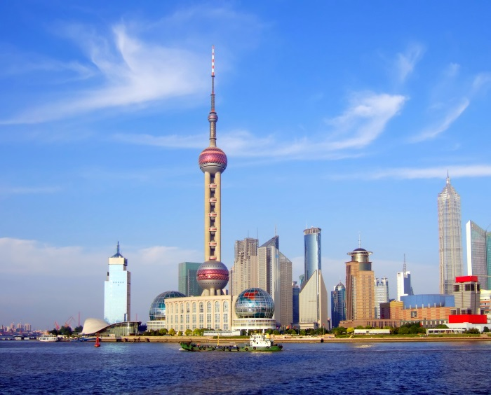 Turnul Perla Orientului, Shanghai