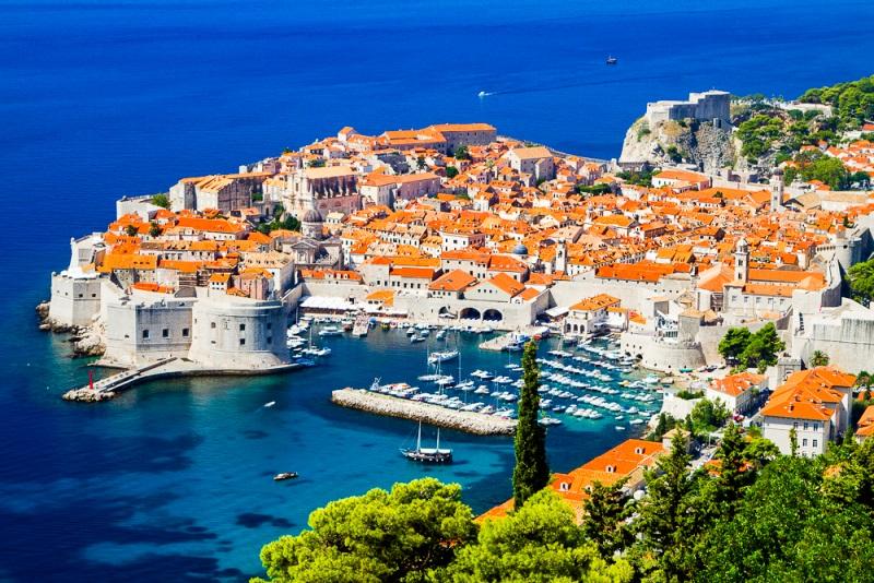 Dubrovnik, Croatia, panorama