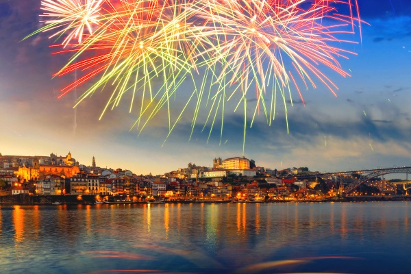 Anul Nou in Porto, Portugalia