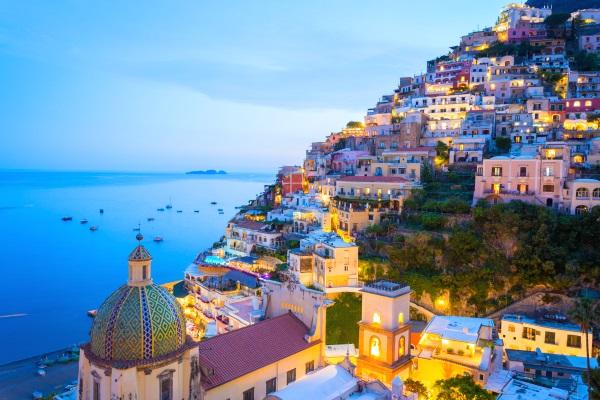 Coasta Amalfi, Napoli, Italia