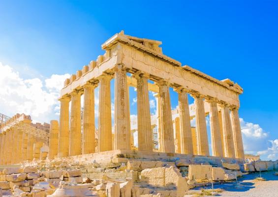 Templul Parthenon din Complexul Acropolis, Atena, Grecia
