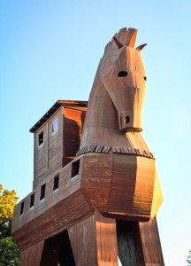 Calul Troian, Canakkale, Turcia