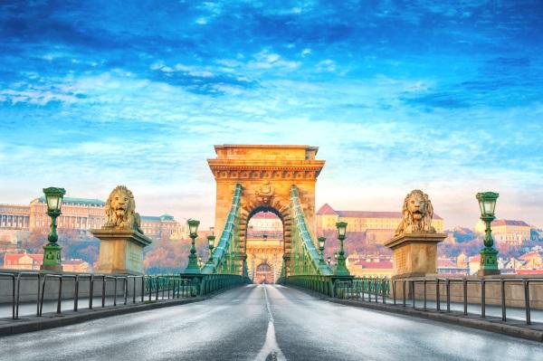 Podul cu lanturi, Budapesta, Ungaria