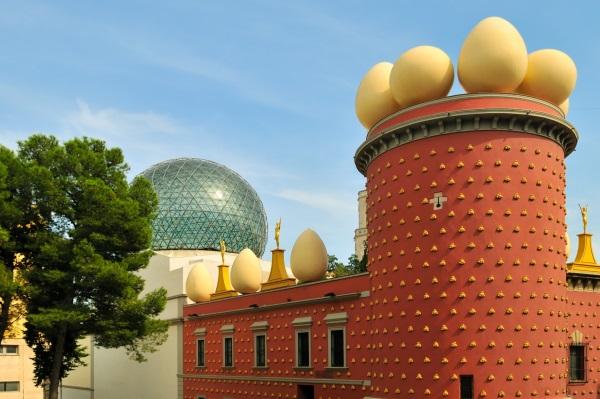 Muzeul lui Salvador Dali din Figueras, Costa Brava, Spania