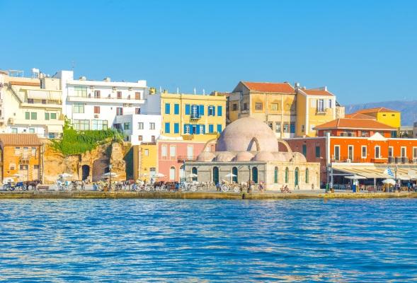 Port in Chania, Creta