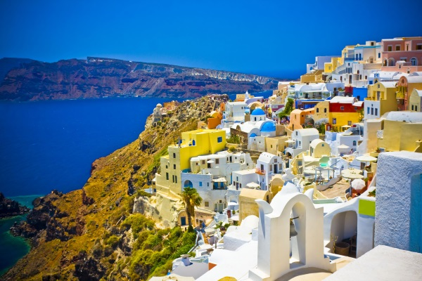 Orasul Oia, Insula Santorini