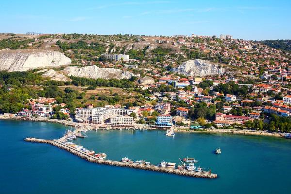 Balchik, vedere panoramica