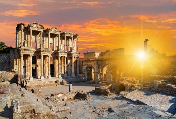 Biblioteca Celsus, Efes, Turcia