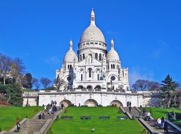 Basilica Sacre Coeur, Paris, Franta