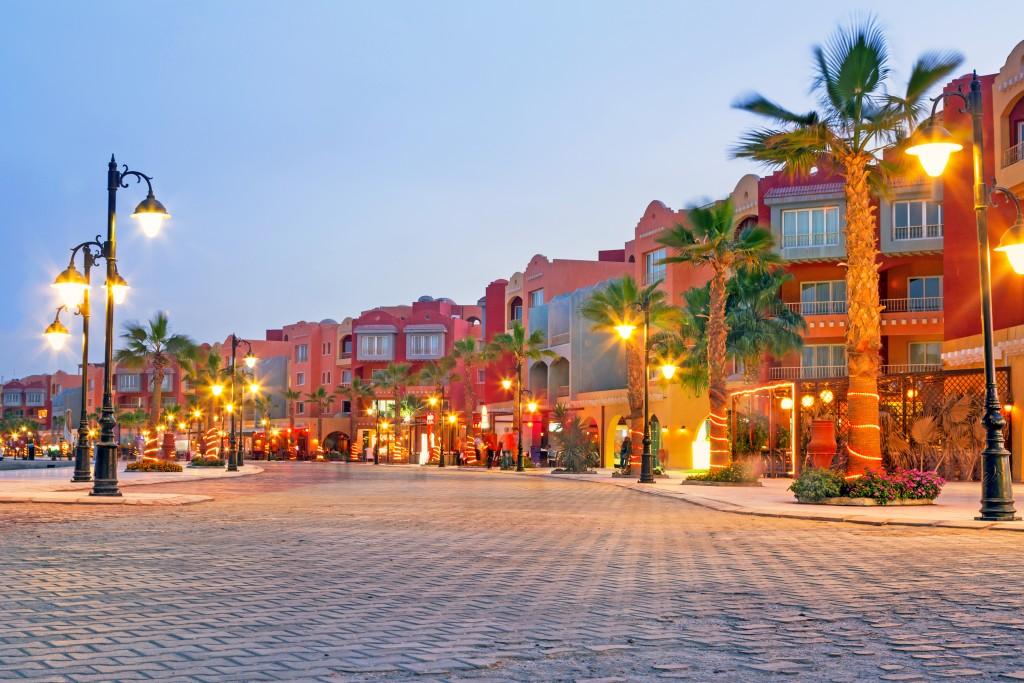 Hurghada Marina Boulevard, Hurghada, Egipt