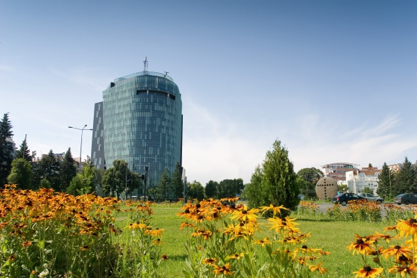 Panorama, Piata Charles de Gaulle, Business Plaza, Bucuresti, Romania
