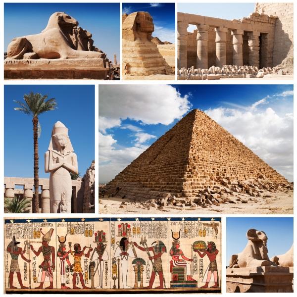 Piramide, Sfinx, Egipt