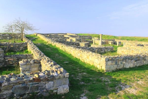 Ruinele Histria, Constanta, Romania