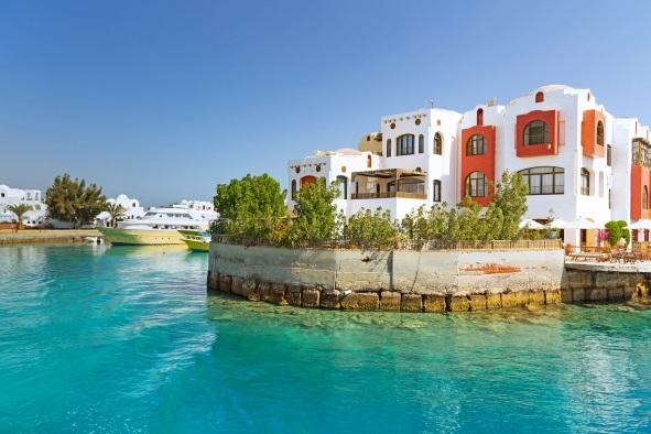 Port, Hurghada, Egipt