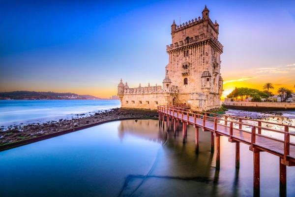 Turnul Belem, Raul Tagus, Lisabona, Portugalia