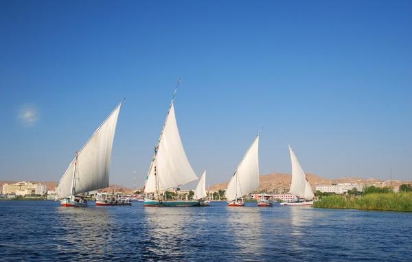 Fluviul Nil, Egipt