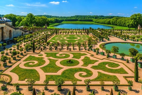Orangerie Parterre, Palatul Versailles, Paris, France