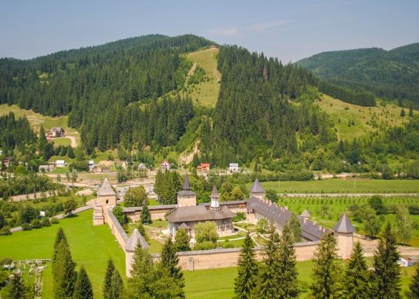 Manastirea Sucevita, Bucovina, Romania