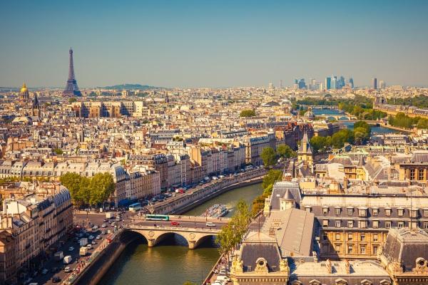 Panorama cu Parisul, Catedrala Notre Dame