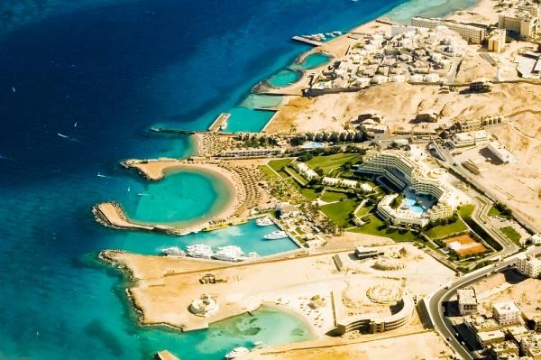Vedere panoramica, Hurghada, Egipt
