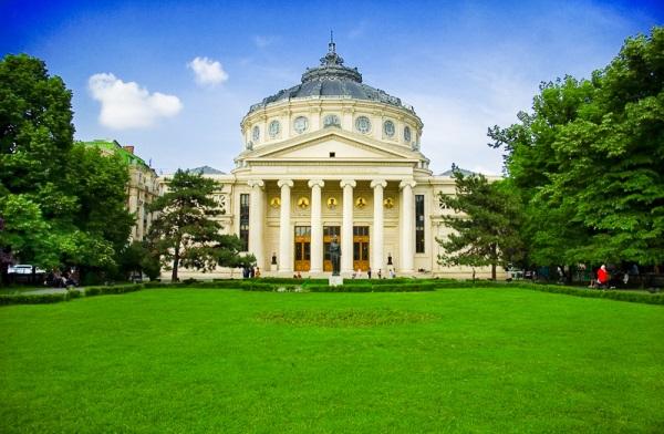 Ateneul roman, Bucuresti, Romania