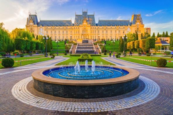 Palatul Culturii, Iasi, Romania