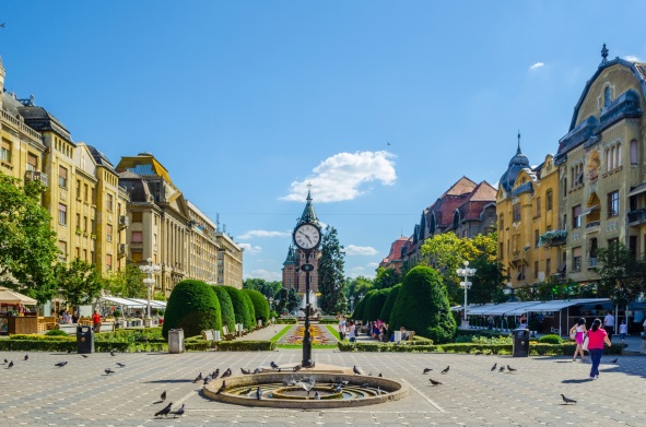 Piata Victoriei, Timisoara, Romania