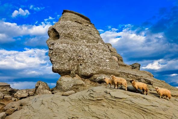 Sfinxul, Muntii Bucegi, Romania