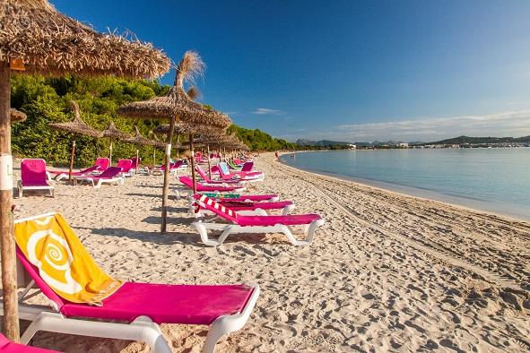 Alcudia Beach, Mallorca, Balearic Islands, Spain shutterstock_157329017