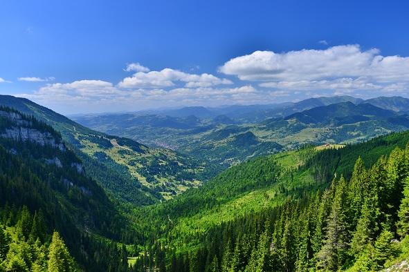 Panorama Borsa, Maramures, Romania