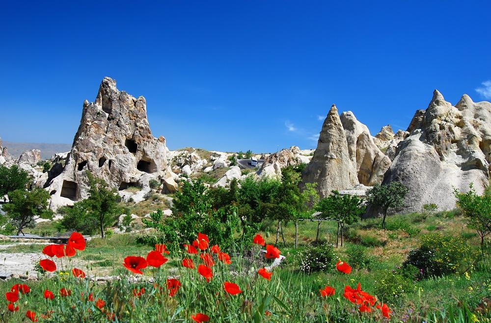 Goreme in Cappadocia dreamstime