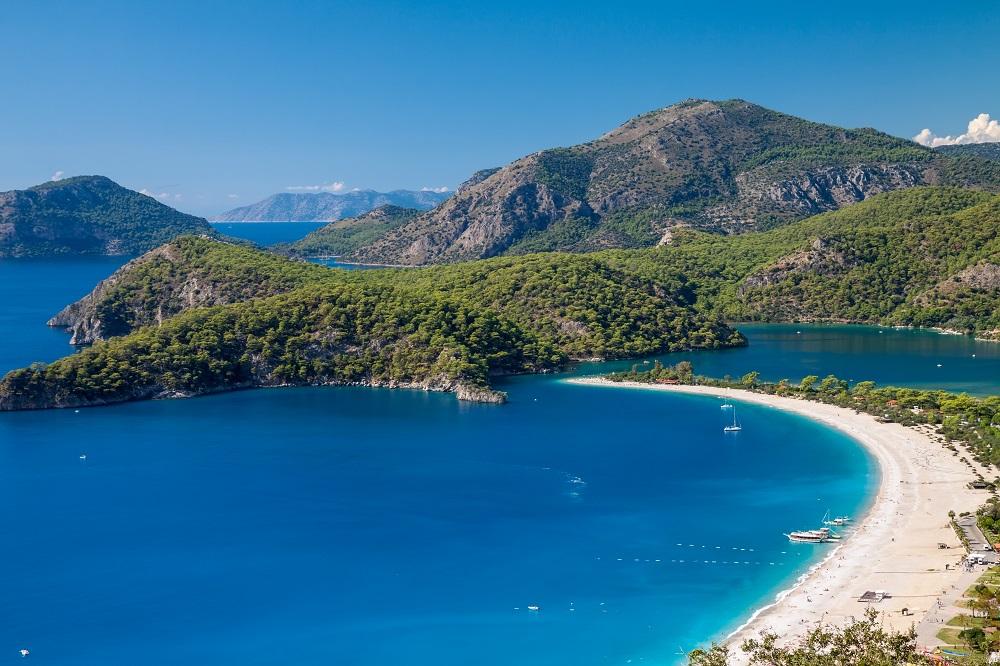 Oludeniz Lagoon, Turkey shutterstock